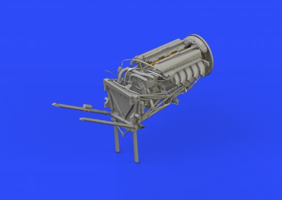 Mosquito FB Mk.VI left engine 1/32  - 2