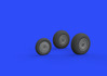 Me 262 wheels 1/32 - 2/4