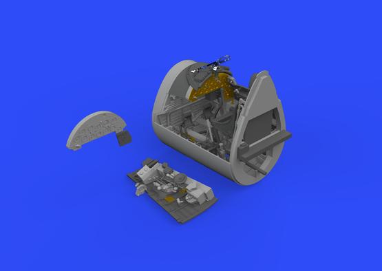 F4U-1D cockpit 1/32  - 2