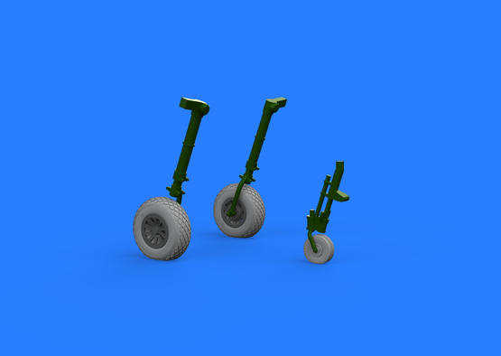 P-51D wheels 1/32  - 2