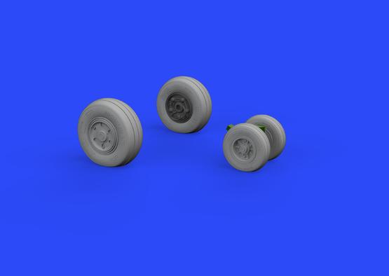 F/A-18E wheels 1/32  - 2