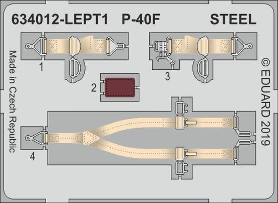 P-40F LööK 1/32  - 2