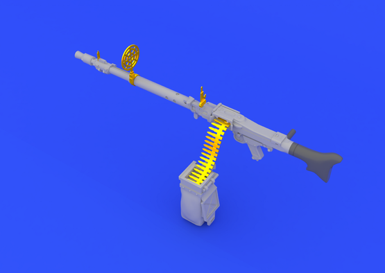 MG 34 пулемет 1/35  - 2