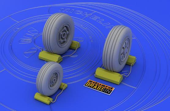 F-22A wheels  1/48 1/48  - 2