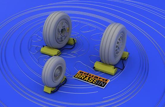 F-16 late wheels  1/48 1/48  - 2