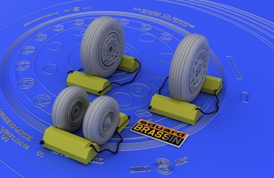 F-4B/N wheels 1/48  - 2