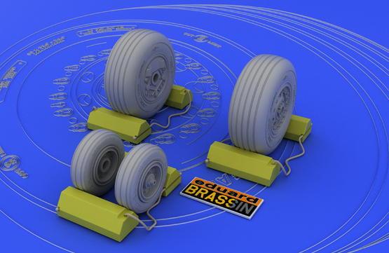 F-4J/S wheels  1/48 1/48  - 2