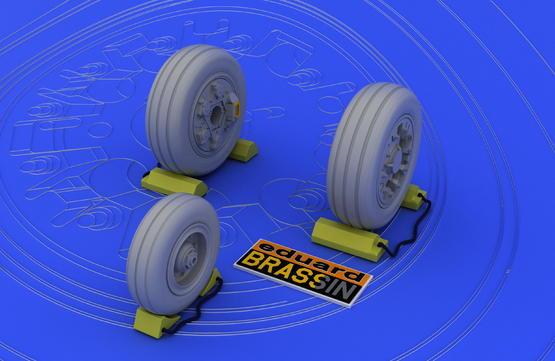 F-16A/B wheels 1/48  - 2