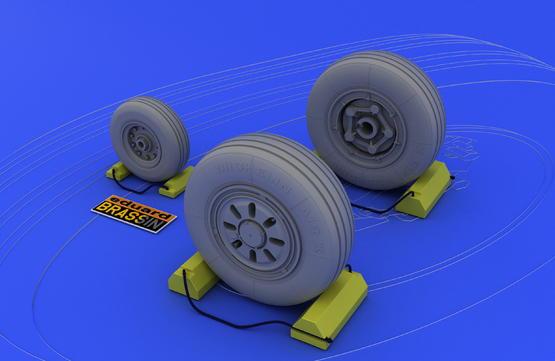 F-22A wheels 1/48  - 2