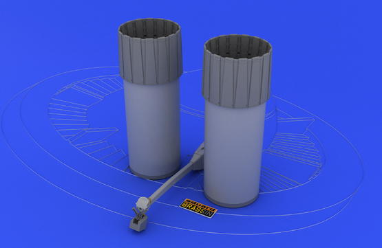 F-4 exhaust nozzles late  1/48 1/48  - 2