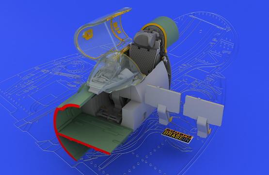 MiG-21SMT interior 1/48  - 2