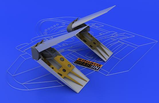 F-16 air brakes 1/48  - 2