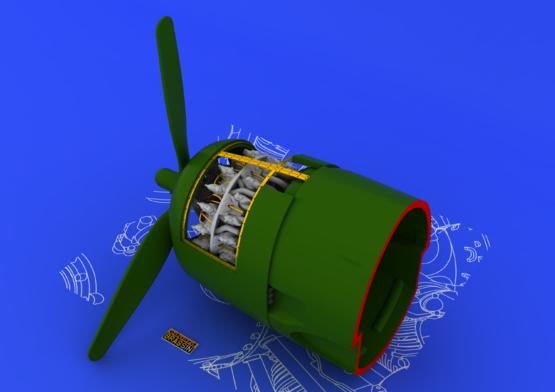 R-2800-10 engine 1/48  - 2