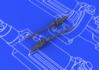 MG 17 German WWII guns  1/48 1/48 - 2/2