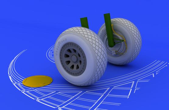 PV-1 wheels 1/48  - 2