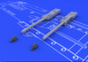 Browning M-2 guns (2pcs) 1/48 - 2/2