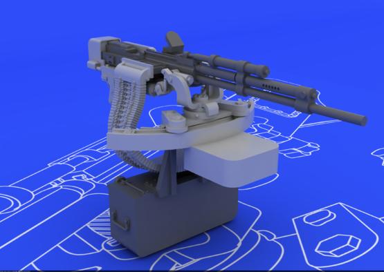 Il-2 UBT gun 1/48  - 2