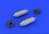 US 250lb bombs (2 pcs) 1/48 - 2/3