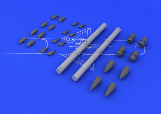 AIM-120C アムラーム(2個入り) 1/48  - 2