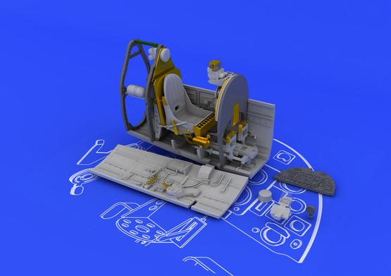 Spitfire Mk.IX cockpit 1/48  - 2