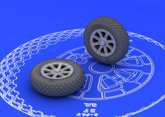 F6F wheels 1/48  - 2