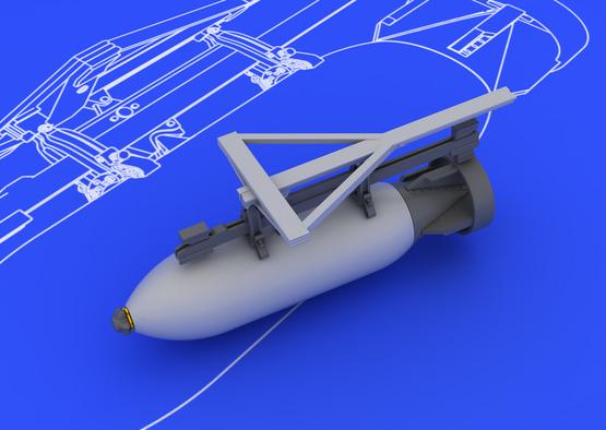 Spitfire sada bomb 500lb 1/48  - 2
