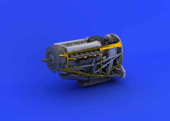 Spitfire Mk.IX двигатель 1/48  - 2