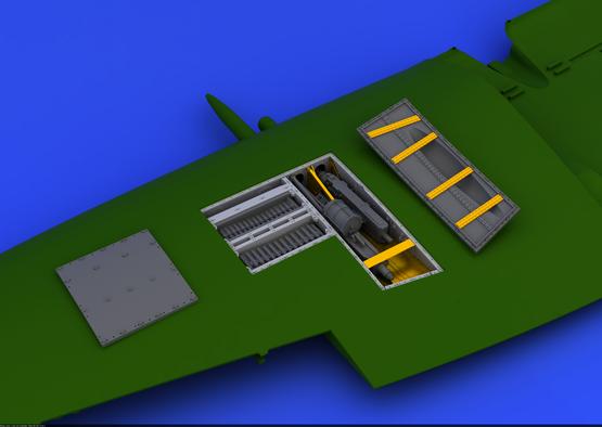 Spitfire Mk.IX zbraňová šachta 1/48  - 2