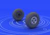 Spitfire wheels - 4 spoke 1/48 - 2/3