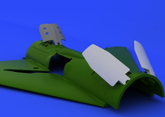 MiG-21PF/PFM/R airbrakes 1/48  - 2