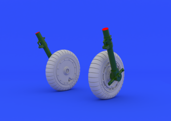Fw 190 wheels late 1/48  - 2
