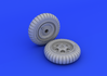 Fw 190 wheels early 1/48 - 2/3