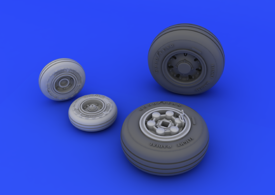 Tornado IDS wheels 1/48  - 2