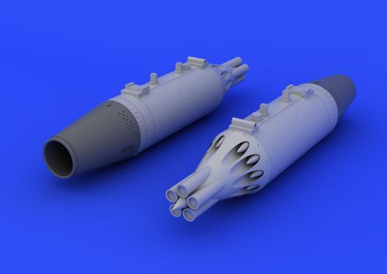 UB-16 rocket launcher  (2 pcs) 1/48  - 2