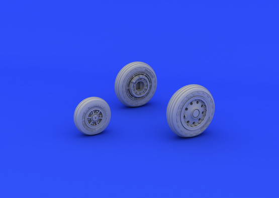 F-104 undercarriage wheels early 1/48  - 2