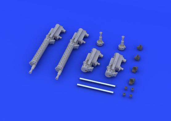 SSW D.III kulomety 1/48  - 2