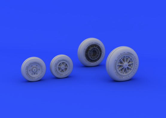 F-104 undercarriage wheels late 1/48  - 2