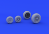 F-104 undercarriage wheels late 1/48 - 2/4