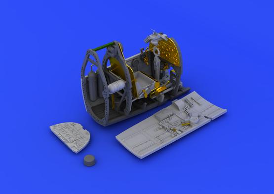 Spitfire Mk.V cockpit  1/48 1/48  - 2
