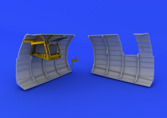 Spitfire Mk.V radio compartment  1/48 1/48  - 2