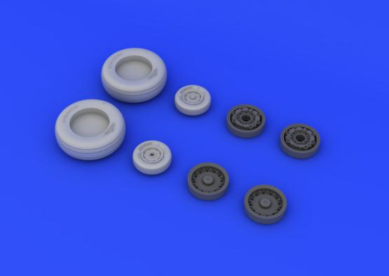 A-6 wheels 1/48  - 2