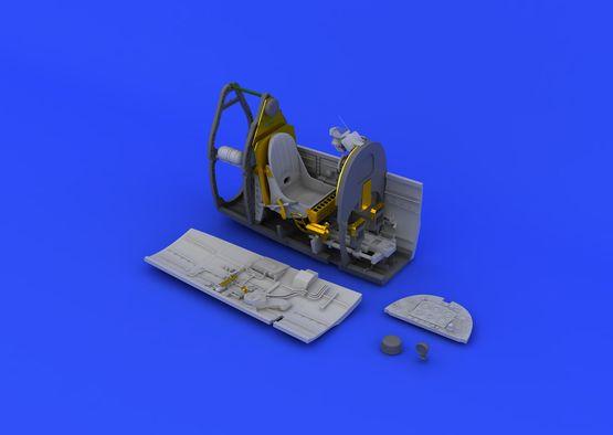 スピットファイア Mk.VIII コクピット 1/48  - 2