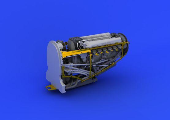 Spitfire Mk.VIII motor 1/48  - 2