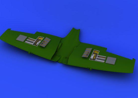 Spitfire Mk.VIII zbraňové šachty 1/48  - 2