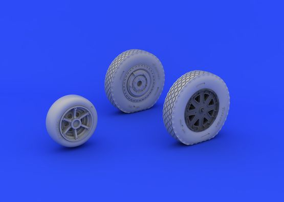 P-39 wheels late 1/48  - 2
