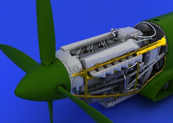 Spitfire Mk.XVI engine 1/48  - 2