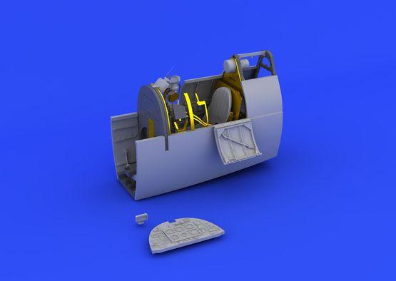 Spitfire Mk.I cockpit 1/48  - 2