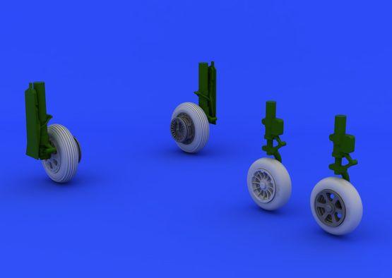F-86F wheels 1/48  - 2
