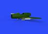 Bf 109F landing flaps 1/48 - 2/7
