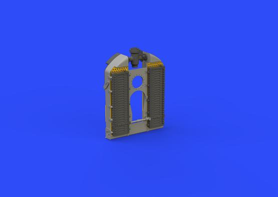 SE.5a radiator - Wolseley Viper 1/48  - 2